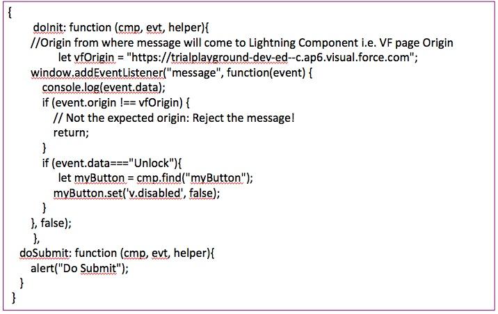 Embedding Google reCAPTCHA v2 in Salesforce Lightning Component to
